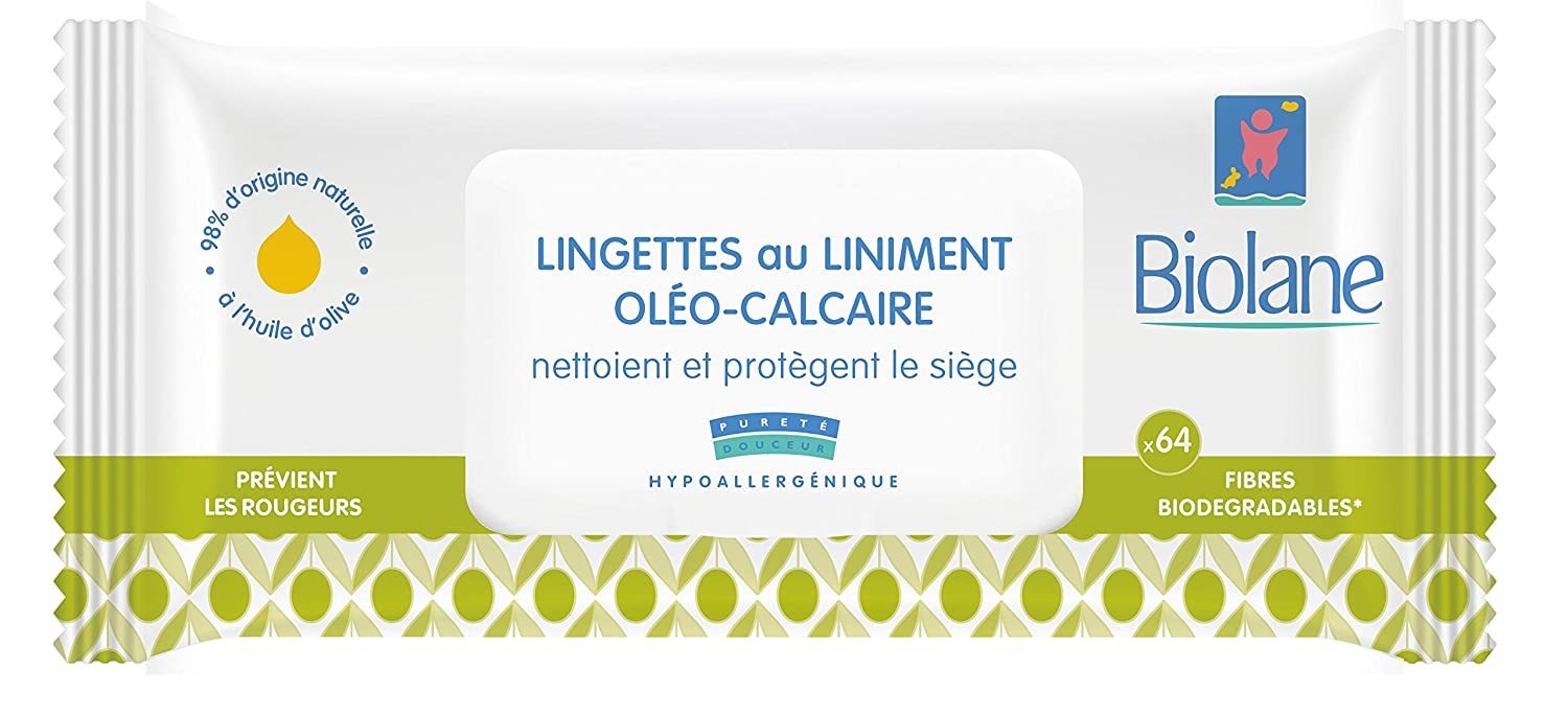 Biolane Lingettes au Liniment - Lot de 12 BLINI