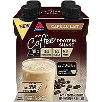 Atkins Atkins Iced Coffee Cafe Au Lait Protein Shake. (4 Shakes)