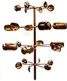Stanwood Wind Sculpture Kinetic Copper Wind Sculpture, Quaking Aspen