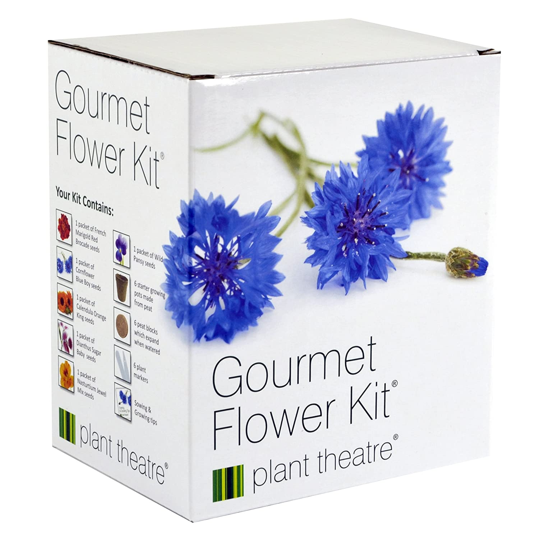 Plant Theatre Gourmet Flower Kit & Funky Veg Kit Bundle Netatmo