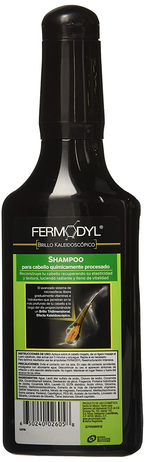Amazon.com: Fermodyl Reestructuracion Intensiva (6 ampolletas) y Shampoo: Beauty