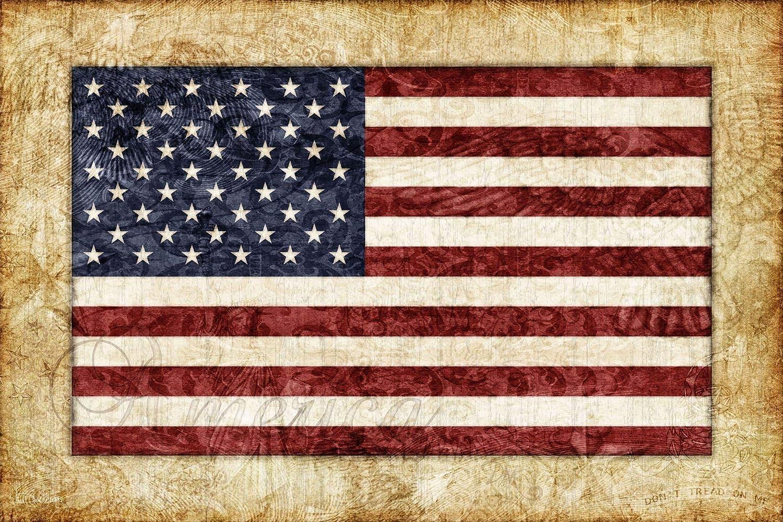 Tapestry, American Flag by Dan Morris