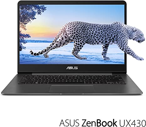 Amazon Com Asus Zenbook 14 Thin And Light Laptop 14 Full Hd Wideview 8th Gen Core I7 8550u Processor 16gb Ddr3 512gb Ssd Backlit Kb Fingerprint Reader Grey Windows 10 Home Ux430ua Dh74