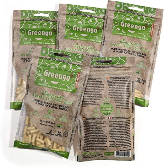 GreenGo 1000 Biodegradable ecológico ecológico sin blanquear ...