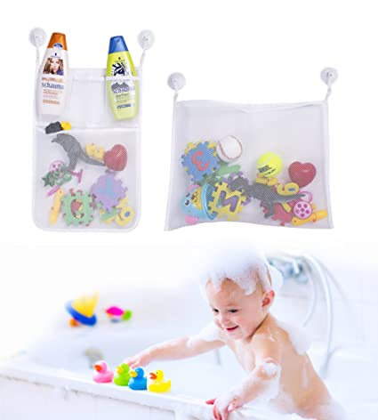 Bath Toy Foam Letters And Numbers NO Toy Storage Net Organizer Kids Baby Gift Baby Baby Bathing/Grooming