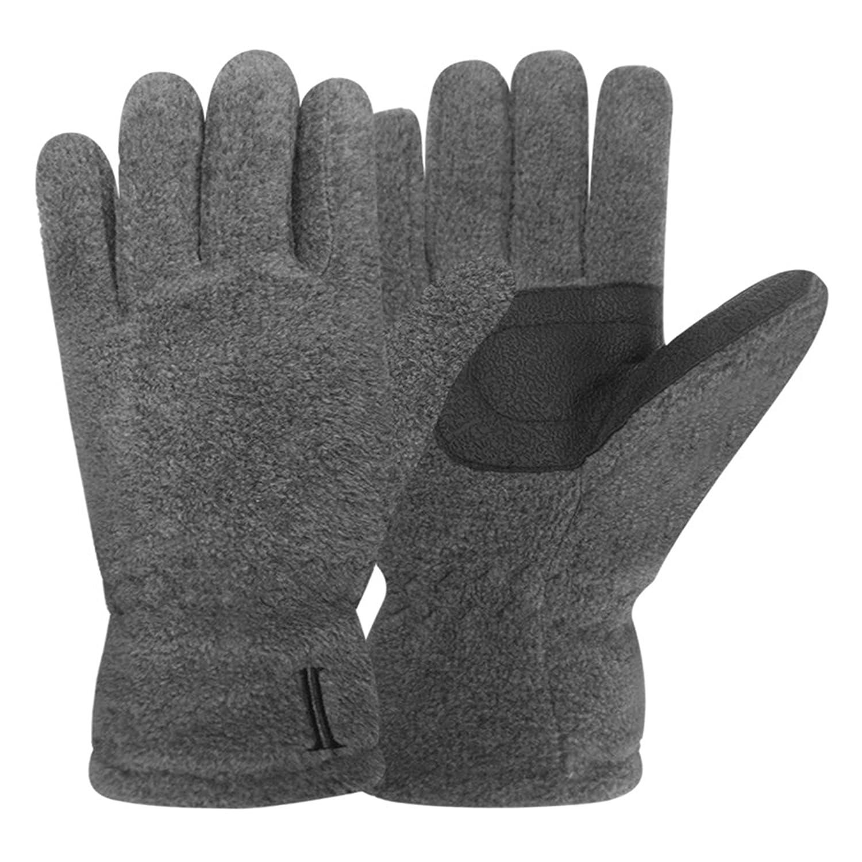 Igloos Boys C40 Thinsulate Insulation Microfleece Gloves Charcoal Small/Medium Jacob ASH (Outdoors) BG001-10SM-AZ