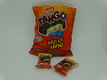 Tango Chocolate Cookies Brand New 300 Gram Bag Chocolate Tango Mini Size