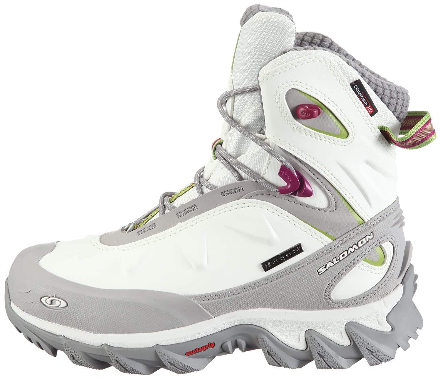 Salomon Women s Mischaka WP Sports and Outdoor Shoes White Size  3.5   Amazon.co.uk  Shoes   Bags 98245b21fc7