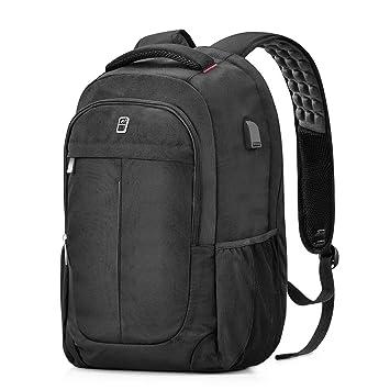 15.6 Men Laptop Notebook Backpack Anti-theft Rucksack Business School Bag+USB