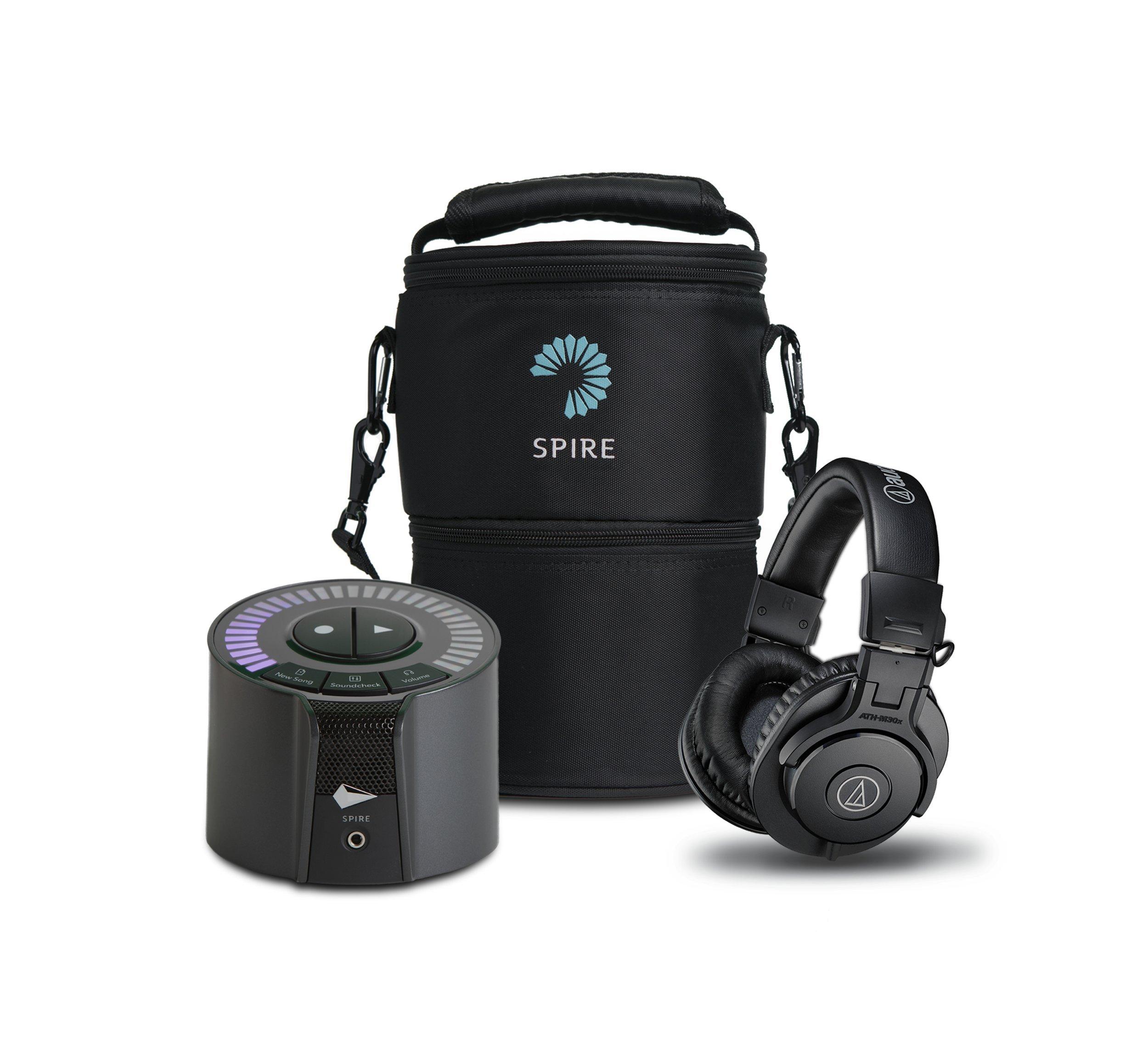iZotope Road Warrior Bundle-Spire Studio, Travel Bag, Audio Technica Headphones, Black