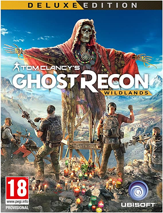 PS4 Tom Clancys Ghost Recon Wildlands - Deluxe Edition - PREOWNED ...