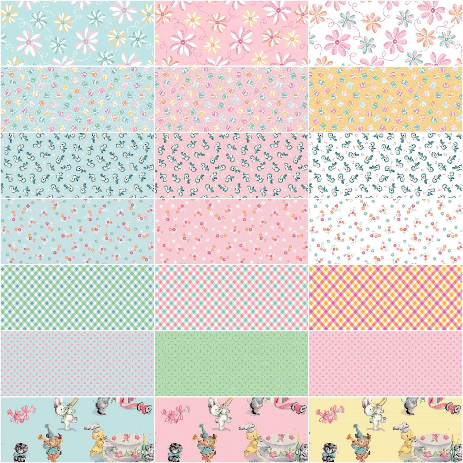 Lindsay Wilkes Perfect Party 21 Fat Quarters Penny Rose Fabrics
