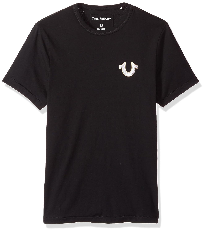 5f6d6f00 Amazon.com: True Religion Men's Metal Horseshoe Logo Tee: Clothing