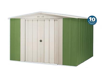 Caseta de jardín metálica Treco A65