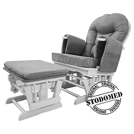 Stodomed STODOMED mecedora + taburete con balancín Función ...