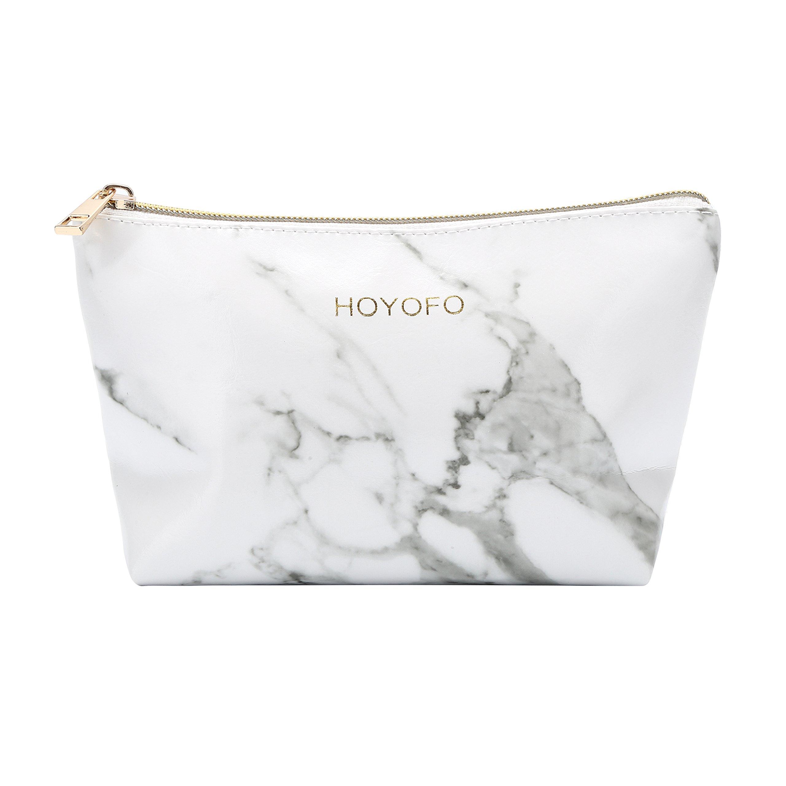 d7d73e5559a Amazon.com : HOYOFO Cosmetic Pouch for Women Travel Makeup Bags ...
