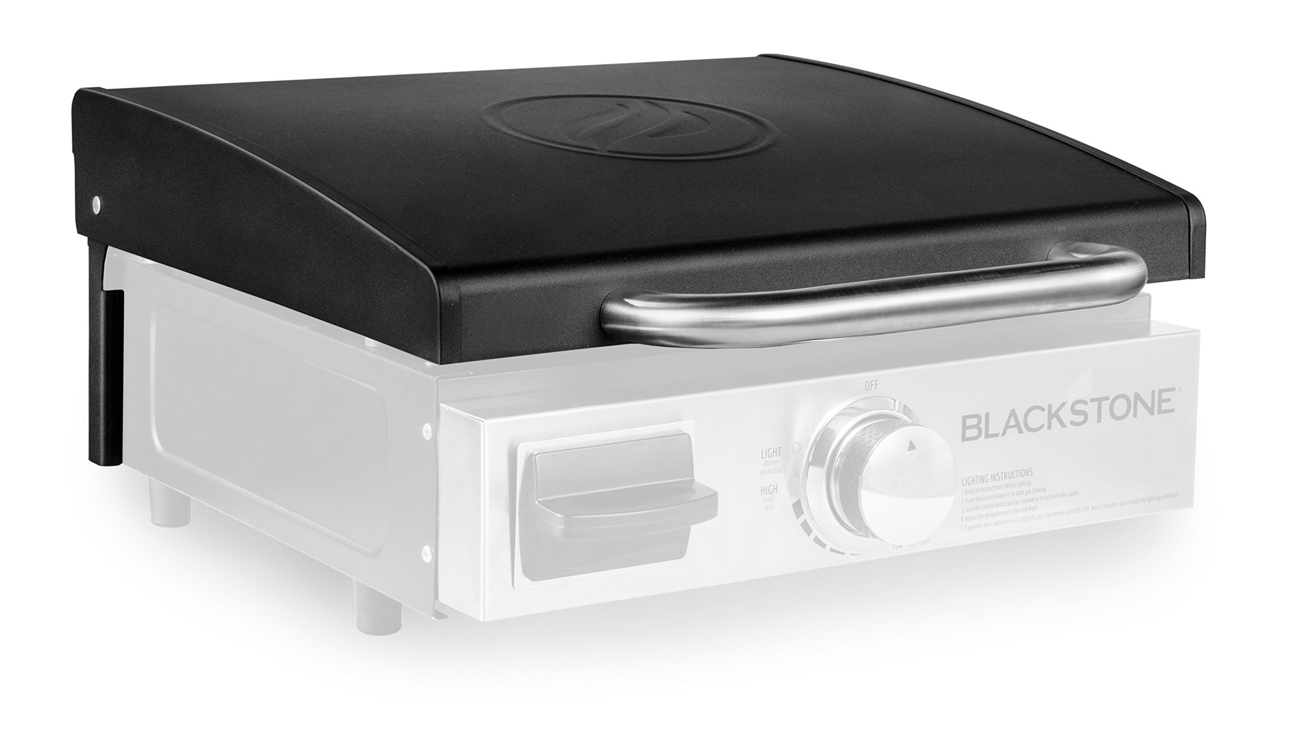Blackstone 5010 Signature Accessories-17 Griddle Hood, Black, Front Grease Only models by Blackstone