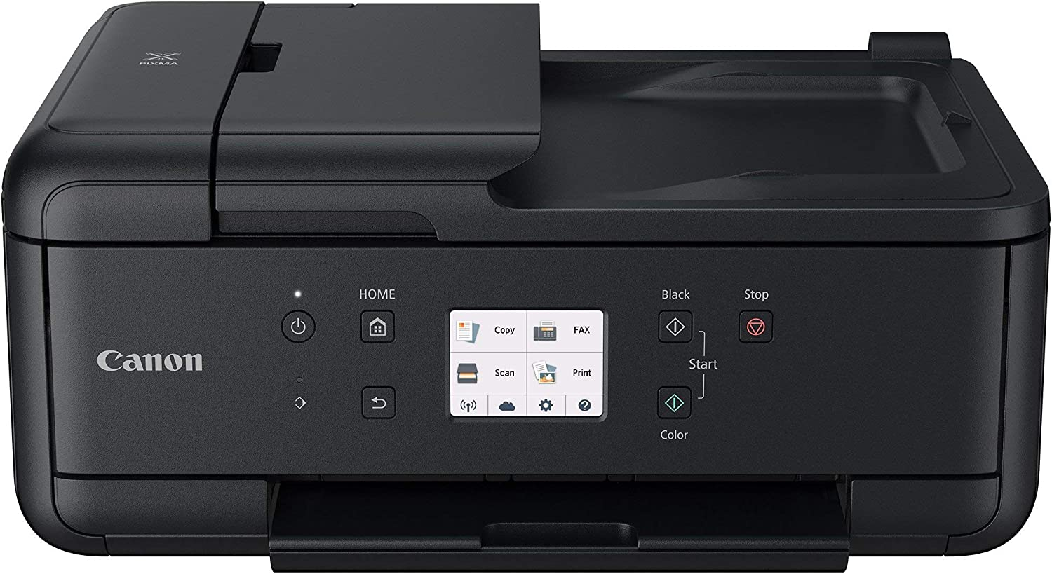 Copier and Fax: Airprint and Google Cloud Compatible Canon PIXMA TR7520 Wireless Home Photo Office All-In-One Printer with Scanner Renewed Black