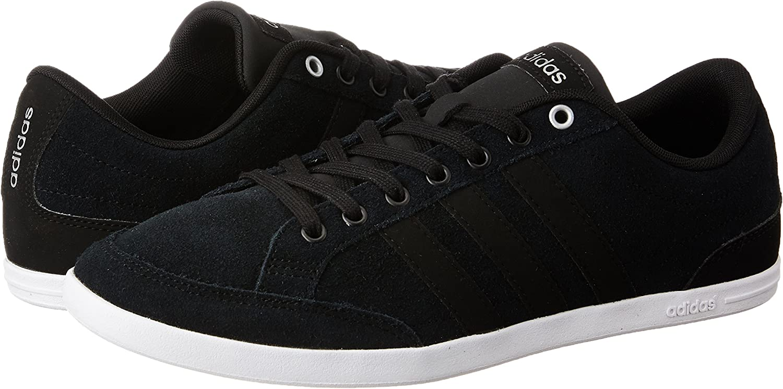 adidas Herren Sneaker neo Sneaker Velour B74609 schwarz