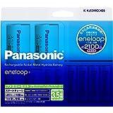 パナソニック エネループ ファミリーセット 単3形充電池 4本・単4形充電池 2本 ・単1形・単2形スペーサー各2本入り K-KJ53MCC42S
