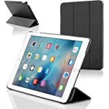Forefront Cases Apple iPad Mini Retina 2nd Generation A1489 Leather Folding Case Cover Stand – Ultra Slim Lightweight with full device protection and Smart Auto Sleep Wake function
