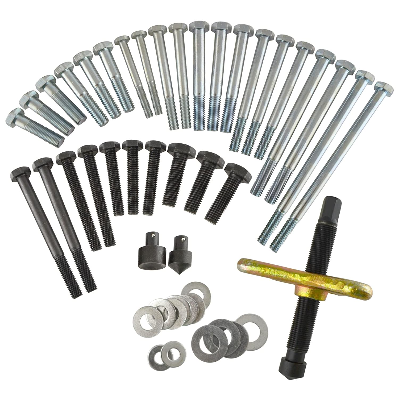 AB Tools-Toolzone 46pc Harmonic Puller Set Crankshaft Balance Puller Gear Flywheels Steering TE822