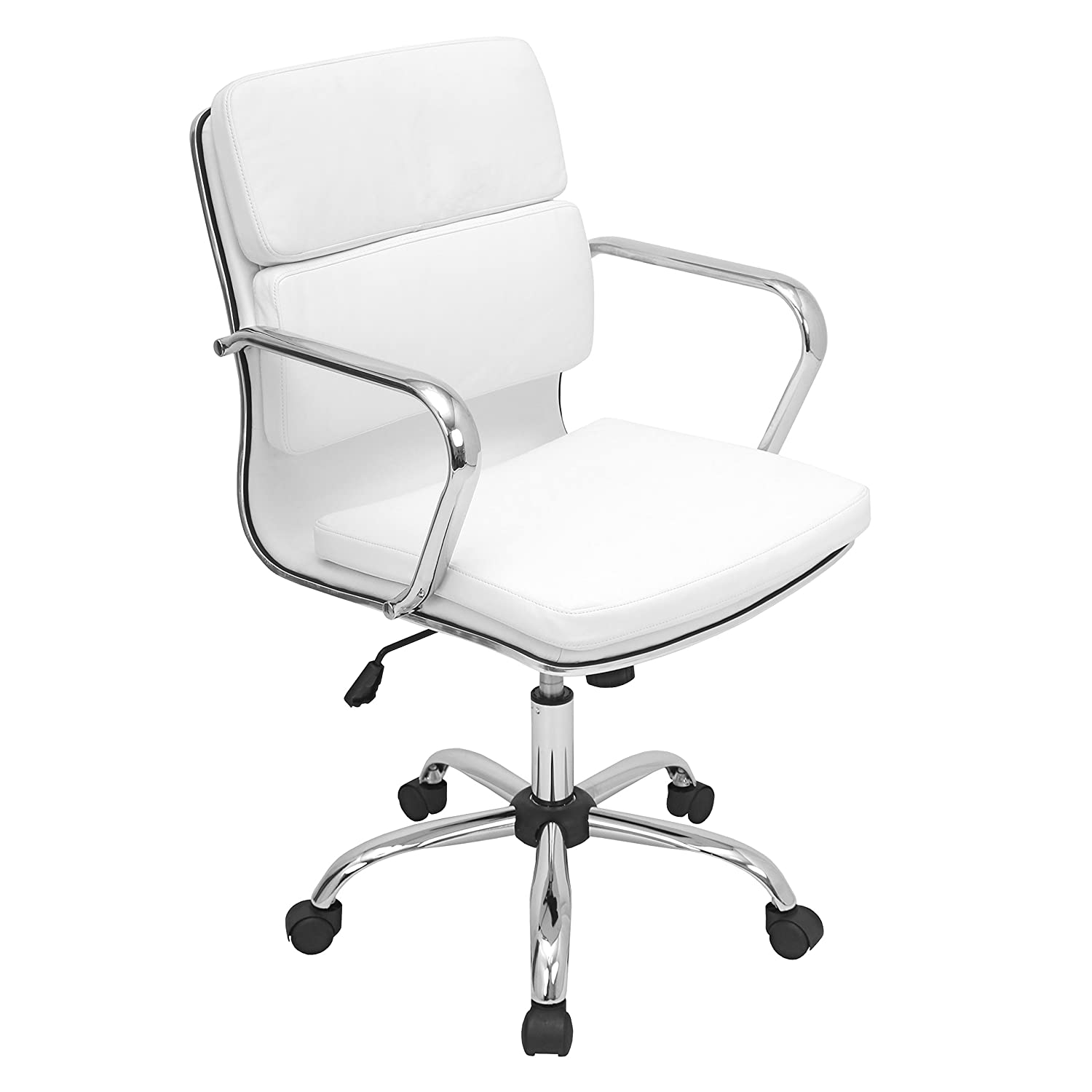 office high modern back p white zuo engineer chair