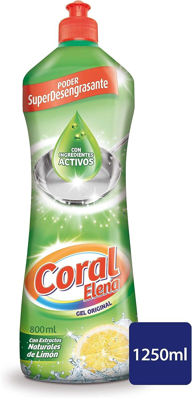 Coral Lavavajillas Líquido a Mano - 1250 ml: Amazon.es: Amazon Pantry