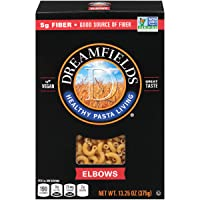 Deals on 12-Pack Dreamfields Healthy Pasta Living Elbows 13.25-Ounce