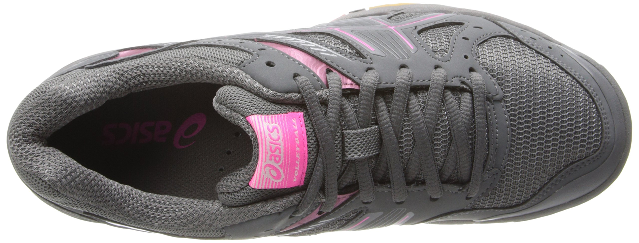 ASICS Women's Gel 1150V Volley Ball Shoe,Smoke/Knock Out Pink/Silver,8 M US by ASICS (Image #8)