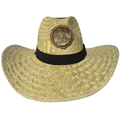 4ffbdd6aea2 Kool Breeze Solar Cooling Hat - Gentleman w. Wide Band (Natural) (Medium