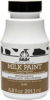 product image for FolkArt Milk Paint in Assorted Colors (6.8 oz), 38935 Brass Buckle