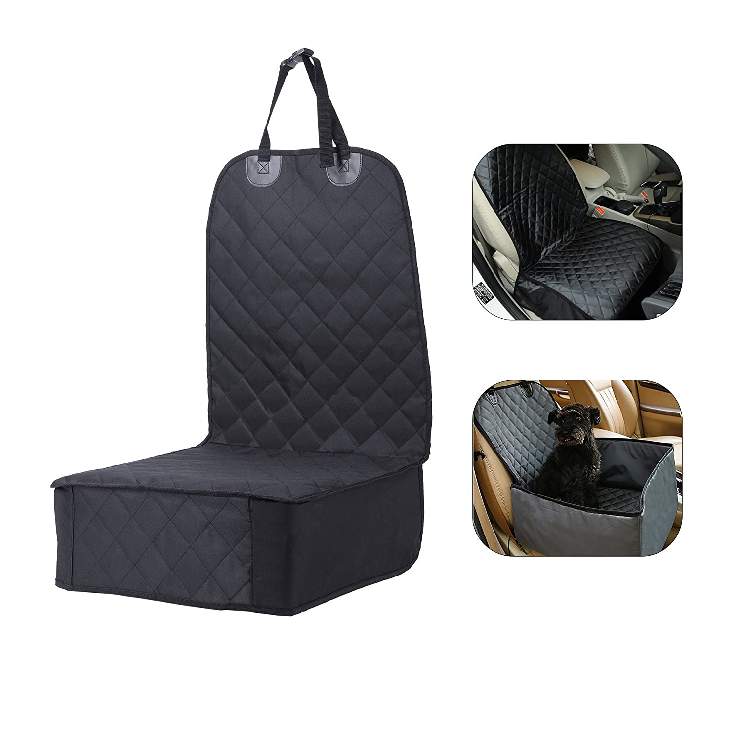 CO-Z 40  x 20.5  Padded Car Pet Front Seat Cover Waterproof & Non-Skid for a Truck, SUV Cars