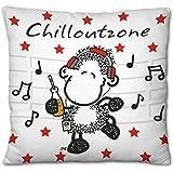 Sheepworld 43295 Plüschkissen Chilloutzone