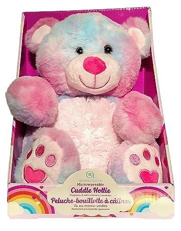 Aroma Home Microwavable Cuddle Hottie Tie-Dye Plush Teddy Bear