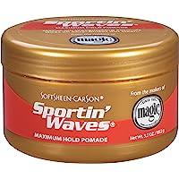 Soft Sheen Sportin Waves Maximum Hold Pomade 3.5 Oz. by Soft Sheen