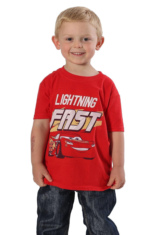 Cars 3 Lightning Fast Boys T-Shirt 2T Freeze Kids