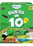 Skillmatics Guess in 10 Animal Planet - Card Game of Smart Questions for Kids & Families | Super Fun & General Knowledge…