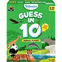 Skillmatics Guess in 10 Animal Planet - Card Game of Smart Questions for Kids & Families   Super Fun & General Knowledge…