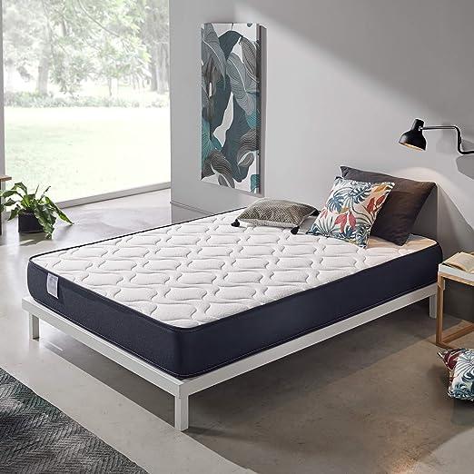 Dreaming Kamahaus Colchón Viscoelástico Roll | Reversible | ViscoAir Pro y Soft Foam | Firmeza Media | ±20 cm altura | 105X190 cm