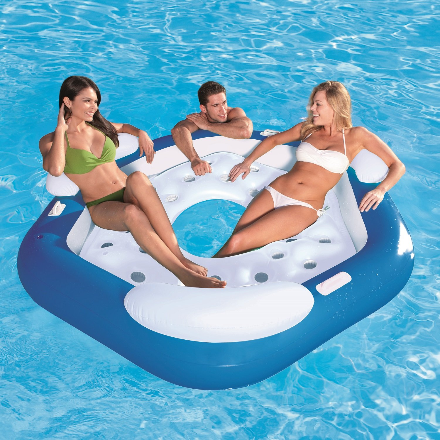 Amazon CoolerZ X3 Inflatable Island 3 Person Toys & Games