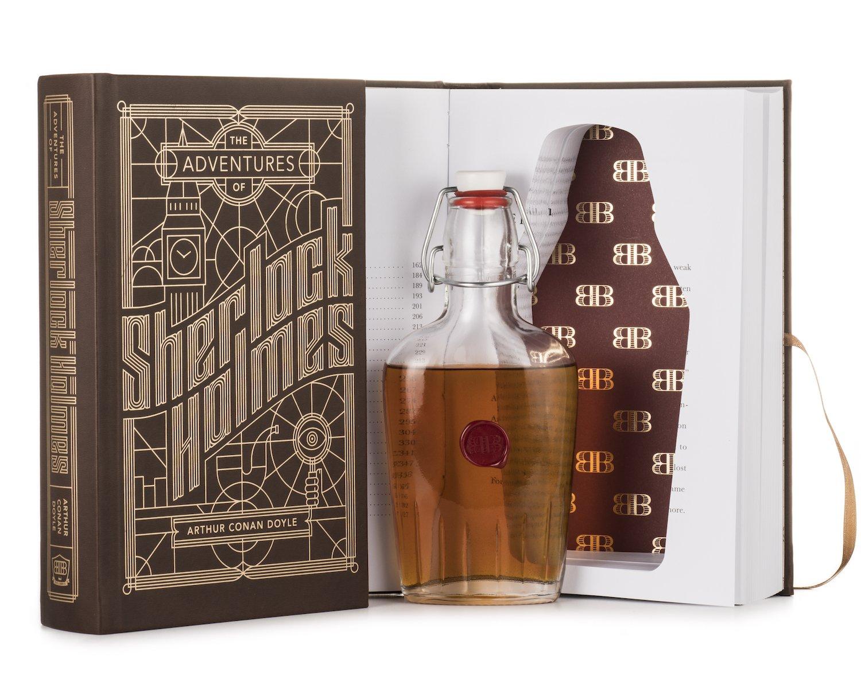 【希少!!】 Adventures of Sherlock Holmes Booze Book B01J2I9E2A with Hidden Adventures Flask Book by Bender Bound B01J2I9E2A, 緑花木ネットストアー:bc08e73b --- a0267596.xsph.ru