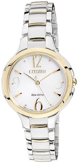 Citizen Citizen L EP5994-59A - Reloj analógico de cuarzo para mujer, correa de
