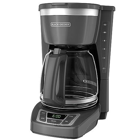 Amazon.com: Bd Cafetera por goteo SS gris: Kitchen & Dining