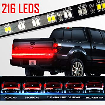 Stop Alert New Version Most Powerful Multi Function  Truck Tailgate Light Bar