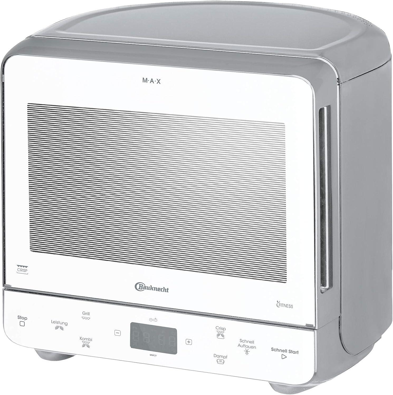 Bauknecht MW 39 WSL/ Kombination Grill und Mikrowelle/ Crisp Funktion/ 700 W/ 13 L Garraum/ Super-Kompakt Design besonders platzsparend in Ecken/ Grill 700 W/ Dampfgarfunktion/ Schnellauftau-Funktion: Amazon.de: Küche & Haushalt - Mini Mikrowelle