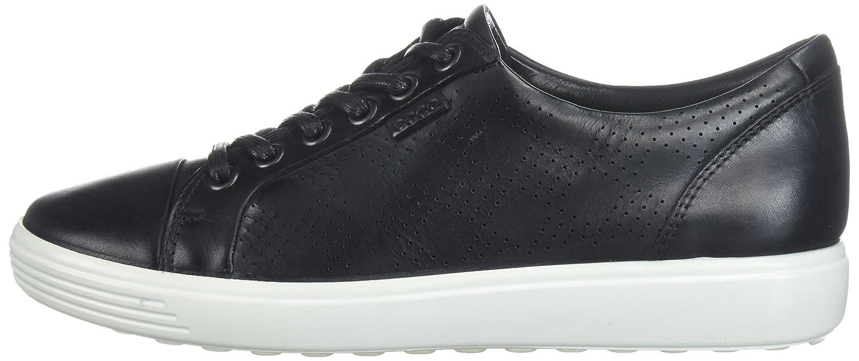 ECCO Women's Soft 7 43 Tie Fashion Sneaker B0716DJ5VP 43 7 EU/12-12.5 M US|Dark Black 7004e6