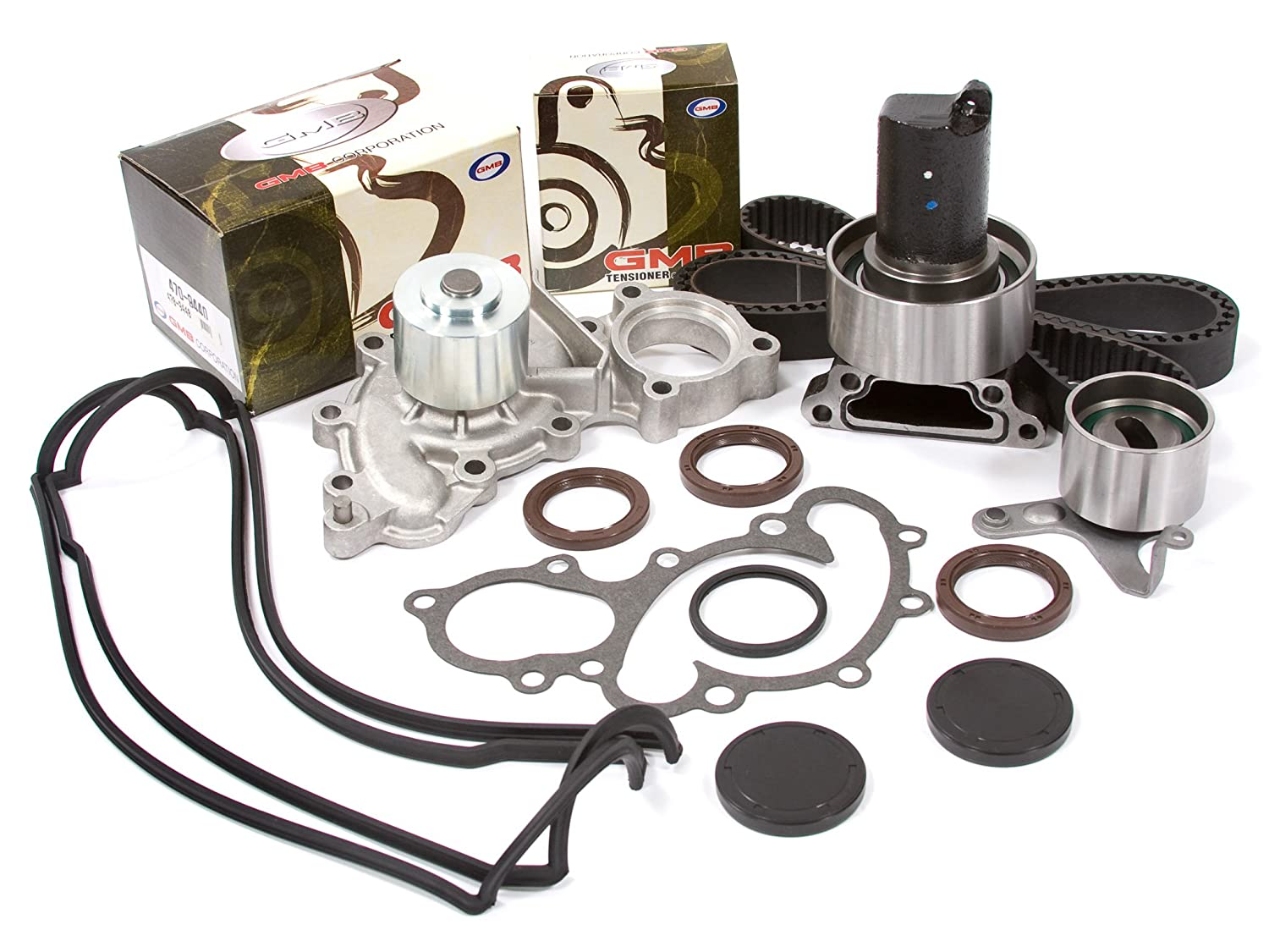 Evergreen Tbk154vct2 88 92 Toyota 4runner Pickup 30 3vze Timing Belt Tensioner Sohc Kit Valve Cover Gmb Water Pump Without Outlet Pipe Automotive