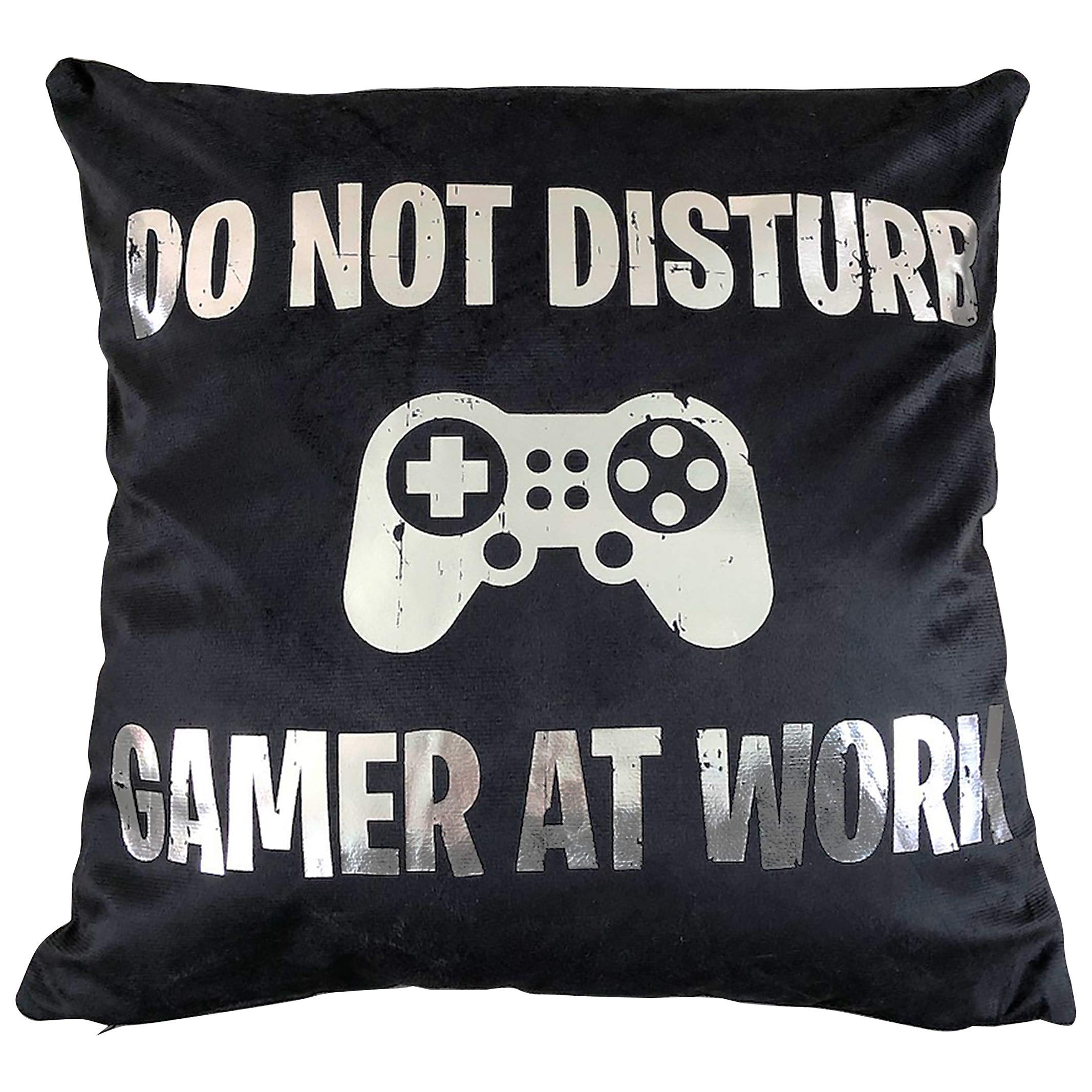 Sass Party & Gifts Do Not Disturb Gamer At Work Cushion Cover - Great Gift for A Gaming Fan