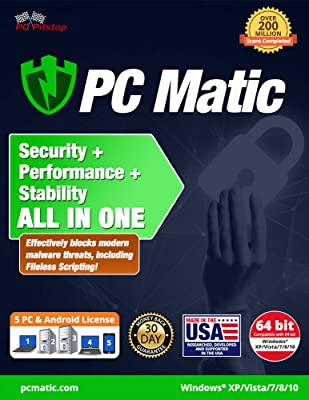 Pc Matic Performance Utility Suite (5 User Edition)